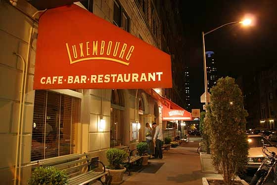 Cafe Luxembourg Nyc Menu