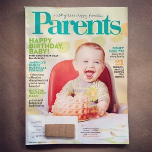 parents magazine cover new dads on the block