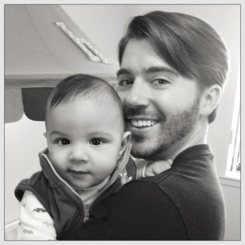 Daddy Josh and Henry. :)